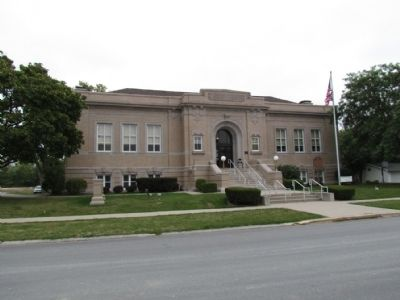 Paulding County Carnegie Library image. Click for full size.