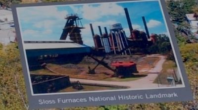 Sloss Furnaces National Historic Landmark image. Click for full size.