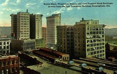 The Brown Marx, Woodward, Empire, and First National Bank Buildings... image. Click for full size.