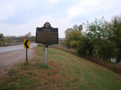 Garretson Marker From a Distance image. Click for full size.