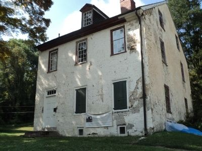 The Jacob Rittenhouse Home at RittenhouseTown Marker image. Click for full size.