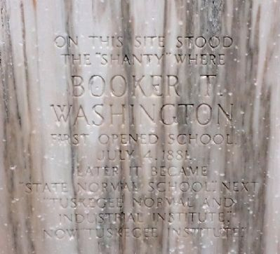 Booker T. Washington Marker image. Click for full size.