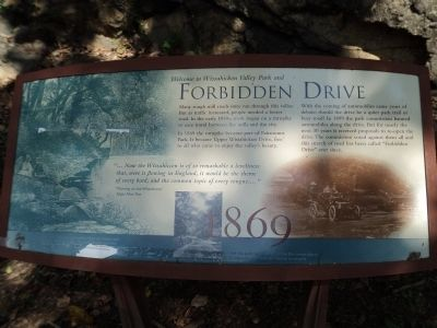 Forbidden Drive Marker image. Click for full size.