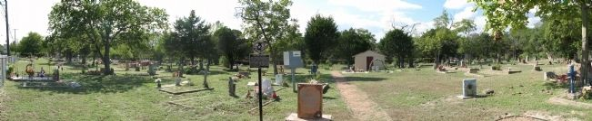 Panorama of Cementerio Photo, Click for full size