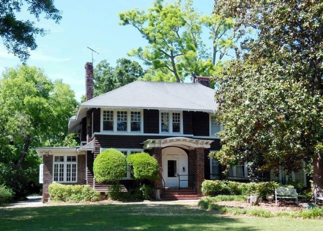 F. Scott & Zelda Fitzgerald home (front view) image. Click for full size.