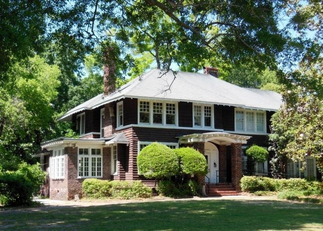 F. Scott & Zelda Fitzgerald home (corner view) image. Click for full size.