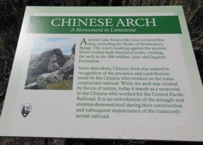 Chinese Arch marker image. Click for full size.