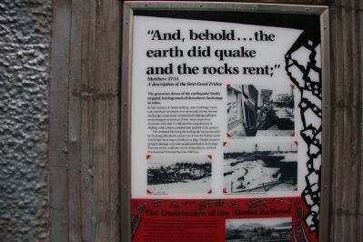 The Earth Did Quake Marker image. Click for full size.