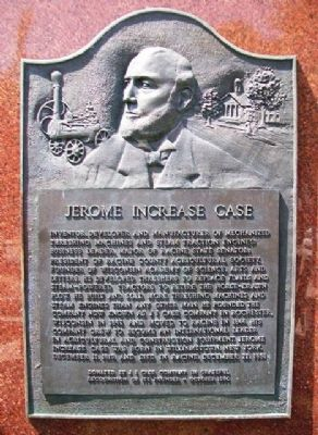 Jerome Increase Case Marker image. Click for full size.
