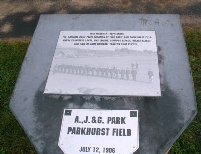 Parkhurst Field Monument Photo, Click for full size