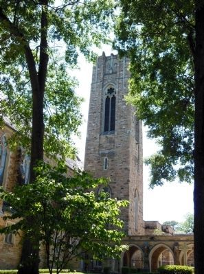 First United Methodist Church Tower image. Click for full size.