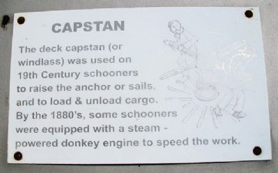 Capstan Marker image. Click for full size.