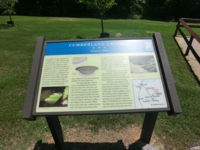 Cumberland Caverns Marker image. Click for full size.