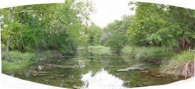 Brushy Creek Panorama image. Click for full size.