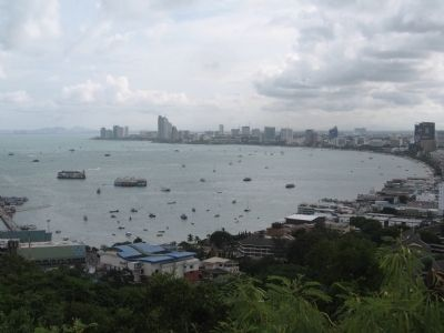 Pattaya Bay image. Click for full size.