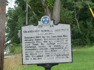Grandview Normal Institute Marker image. Click for full size.