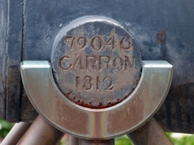 79046 Carron 1812<br>Trunion of the Confiance Cannon image. Click for full size.