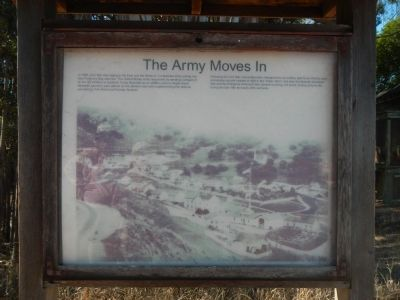 The Army Moves In Marker image. Click for full size.