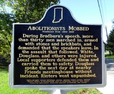 Abolitionists Mobbed Marker image. Click for full size.