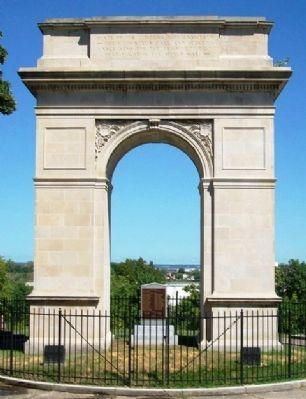 Rosedale Memorial Arch image. Click for full size.