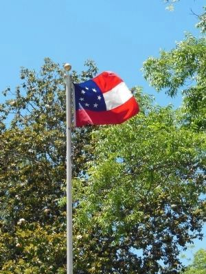 First National Confederate Flag image. Click for full size.