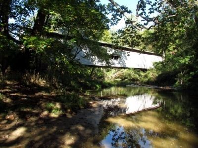 Portland Mills Covered Bridge image. Click for full size.