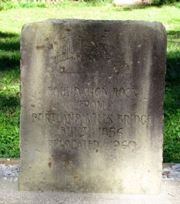 Foundation Rock Marker image. Click for full size.