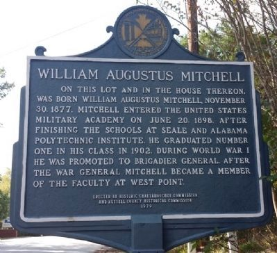 William Augustus Mitchell Marker image. Click for full size.
