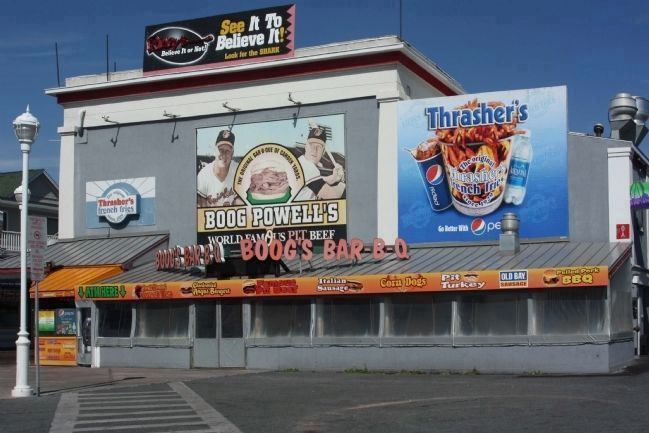 Ocean City's Thrasher's Landmark and tradition plus Boog's BBQ Beef as well image. Click for full size.