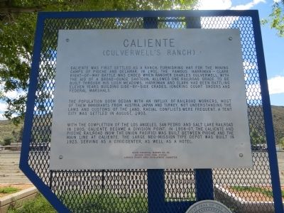 Caliente Marker image. Click for full size.