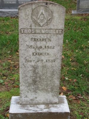 Thomas H Noblit grave image. Click for full size.