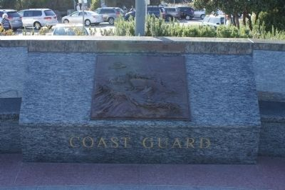 View W - The Lone Sailor Memorial Coast Guard Panel Photo, Click for full size