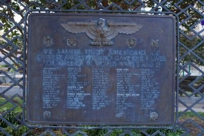 Chinese-American War Memorial Marker image. Click for full size.