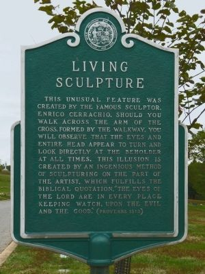 Living Sculpture Marker image. Click for full size.