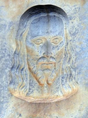 Jesus Looking to the Right image. Click for full size.