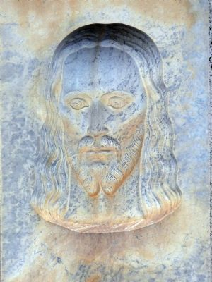 Jesus Looking to the Left image. Click for full size.