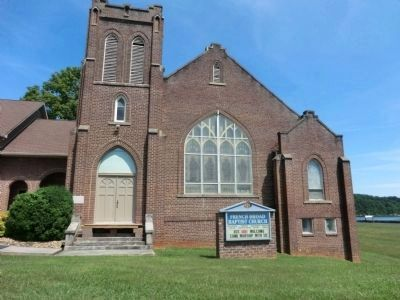 French Broad Baptist Church image. Click for full size.