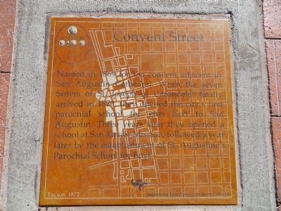 Convent Street Marker image. Click for full size.
