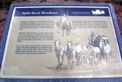 Split Rock Meadows Marker image. Click for full size.