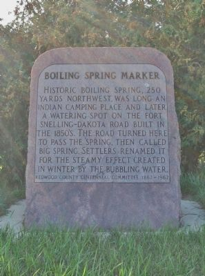 Boiling Spring Marker image. Click for full size.