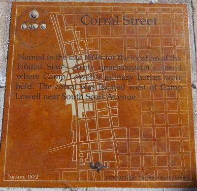 Corral Street Marker image. Click for full size.
