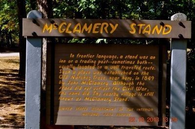 McGlamery Stand image. Click for full size.