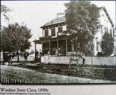 Windsor Store Circa 1890s image. Click for full size.