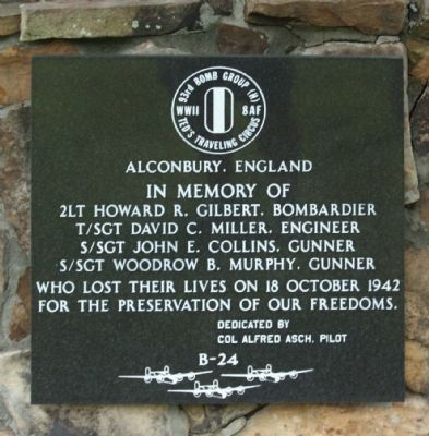 In Memory Of 93rd Bomb Group (H) Marker image. Click for full size.