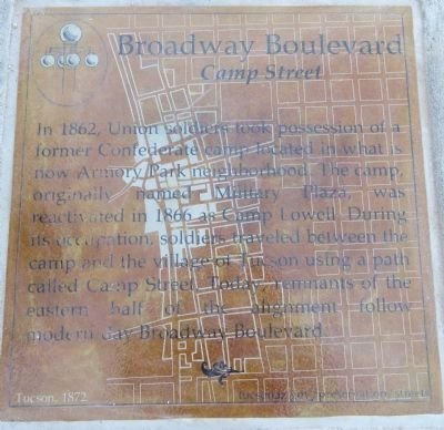 Broadway Boulevard Marker image. Click for full size.