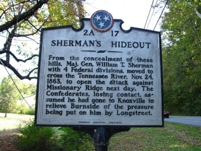Sherman's Hideout Marker image. Click for full size.