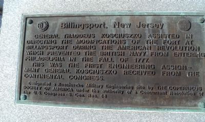 Billingsport, New Jersey	 Marker image. Click for full size.