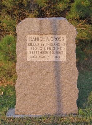 Daniel A. Cross Marker image. Click for full size.
