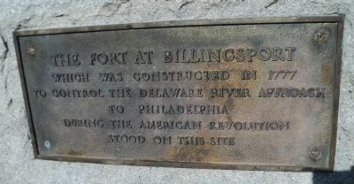 The Fort at Billingsport Marker image. Click for full size.