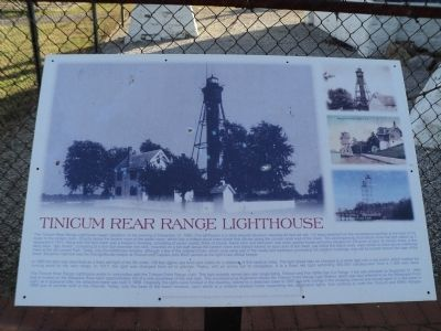 Tinicum Rear Range Lighthouse Marker image. Click for full size.